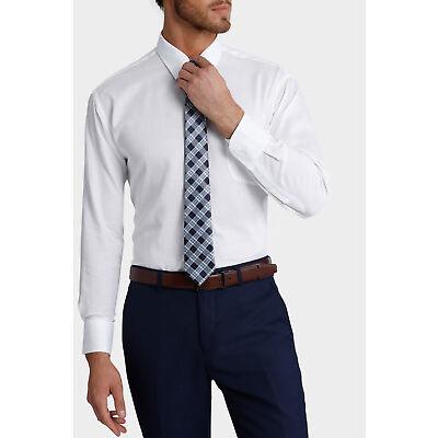 NEW Van Heusen White Nail Head Business Shirt