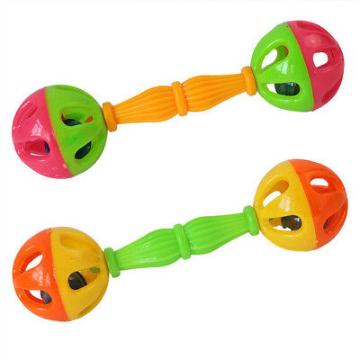 Baby Toy Shaking Dumbells Rattles Bell Early Intelligence Development Toys 0-12M