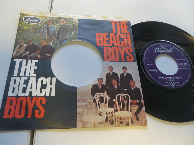 """Beach Boys - Dance,Dance../ The Warmth of the Sun German Picture LC Sleeve..7"""""""