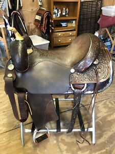 17in. Circle Y Cutting Saddle