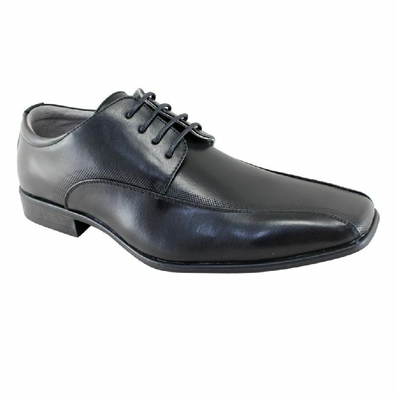 more photos 3829d 4157c MENS JULIUS MARLOW JM33 JM LUKE FORMAL CASUAL LACE UP DRESS SHOES SZ 6-13  BLACK nosntd6165-Men s Formal Shoes