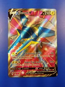 Vikavolt V Pokemon TCG Full Art- x1 NM 180//189 Darkness Ablaze
