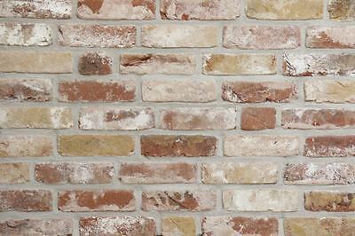 Baustoffe & Holz Zielstrebig Retro-handform-verblender Wdf Bh1001 Rotbunt Getrommelt Klinker Vormauersteine Wohltuend FüR Das Sperma