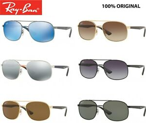 c292c90741af8 sunglasses Ray Ban rb 3593 metal double bridge classic or polarized ...