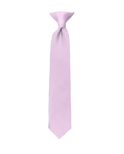 Manzini® Neck Wear Boys/' Kids/' Children/'s Solid Pre Tied Ready to Clip On Tie