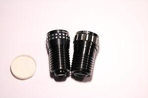 2X-Vintage-Bell-KO-ON-Zoom-F1-5-15-25mm-F1-5-20-32mm-Black-Projector-Lens