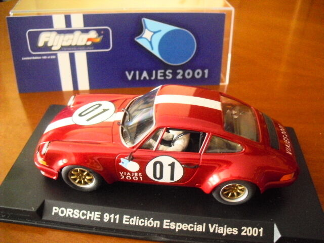 FLY 036301 FLY PORSCHE 911 LTD. EDITION  TRAVEL 2001  Solo 250 pcs New