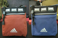 UNISEX ADIDAS SMALL SHOULDER BAG POUCH IDEAL FOR VALUABLES & TRAVEL DOCUMENTS