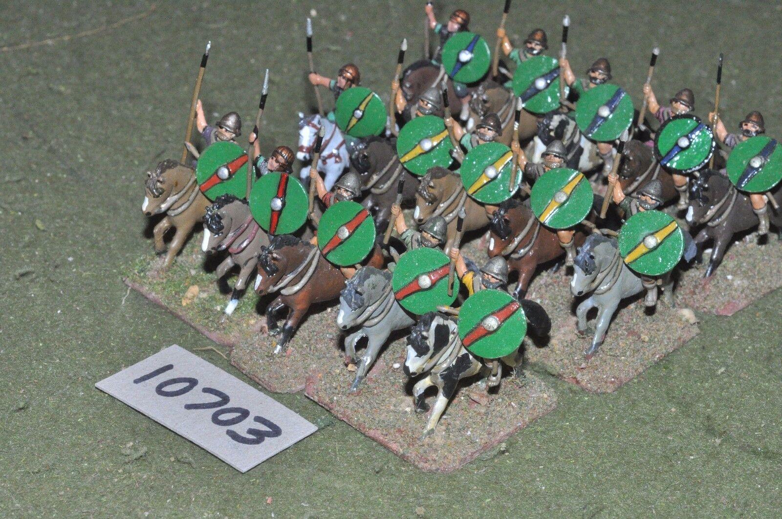 25mm roman era   roman - cavalry 15 cavalry - cav (10703)