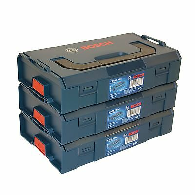 3x Bosch L-BOXX Mini Professional leer - 1600A007SF