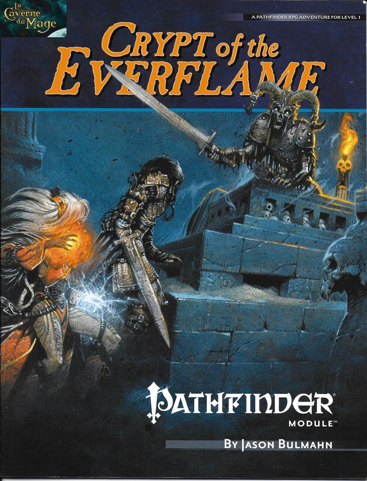 PATHFINDER - Crypt of the Everflame RPG