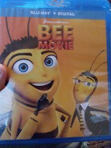 Bee-Movie-Blu-ray-HD-Digital-Slipcover-Jerry-Seinfeld-Renee-Zellweger-Matth