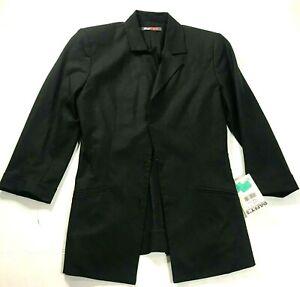 Daryl K Womens Blazer  Black Size Small P
