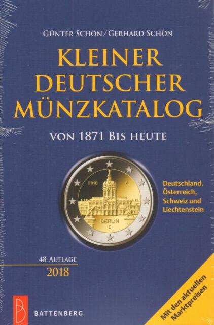 6050: Kleiner Deutscher Münzkatalog, Günter und Gerhard Schön, 48. Auflage 2018