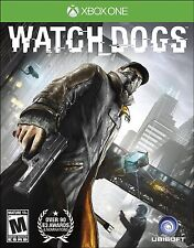 Watch Dogs [Xbox One XB1, Ubisoft, Open World Action Hacking Driving Game] NEW