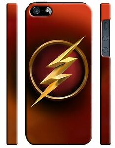 Iphone-4s-5-5s-5c-6-6S-7-8-X-XS-Max-XR-Plus-Hard-Cover-Case-Flash-Hero-Logo-5