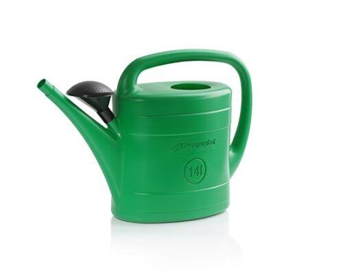 3er SET Gießkanne mit Sieb Gartengießkanne Griff Henkel 5L
