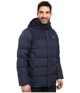 8c9ee1ca8 Details about NWT THE NORTH FACE MENS NUPTSE RIDGE PARKA HOODED PUFFER DOWN  NAVY BLUE