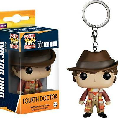 Doctor Who - 4th Doctor Pocket Pop! Keychain NEW Funko