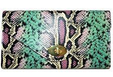H&M Python Pattern Handbag Clutch Purse New