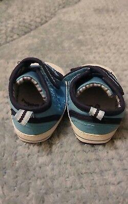 Siguiente Azul Zapatos De Bebé