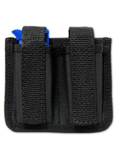 NEW Barsony Dbl Magazine Pouch for Cobra, EAA Mini/Pocket 22 25 380 Pistols