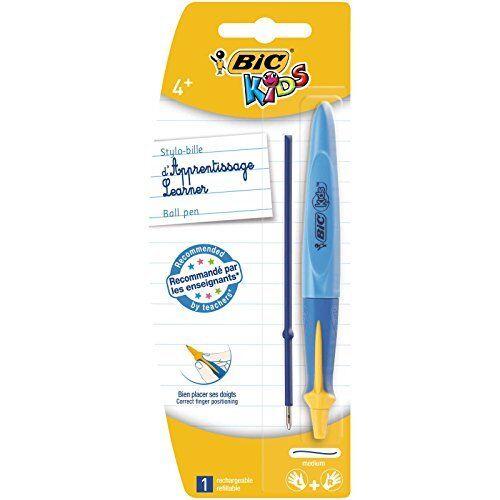 Random Co Blister of 1 BIC Kids Twist System Ergonomic Learning Ballpoint Pen
