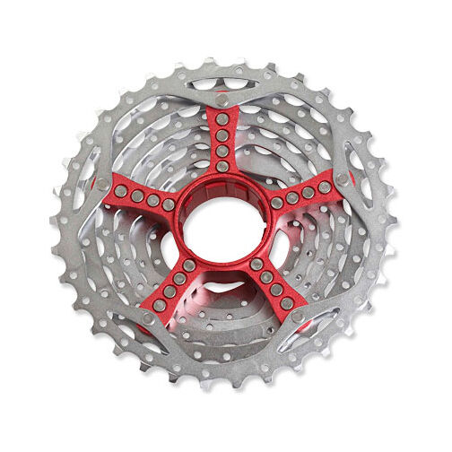 SRAM PG-990 9 Speed MTB Bike Bicycle Cassette Redwin  Red 11-34  clearance