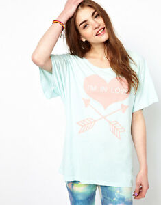 Tshirt Xs 4 38 Couture Seafoam Wildfox In Mint 36 Love Im 6 Asos Tee 8 S Top 10 866qnTv1