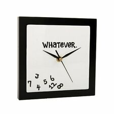 Whatever Wall Clock Home & Kitchen Decorative New Fast Shipping