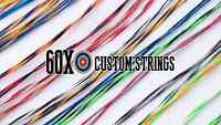 G5 Quest Primal Bow String & Cable Set Black By 60x Custom Strings Bowstrings