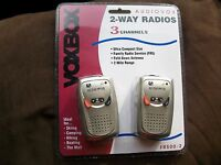 Audiovox 2-way Radios 3 Channels Fr500-2 For Skiing Camping Hiking Boating Mall