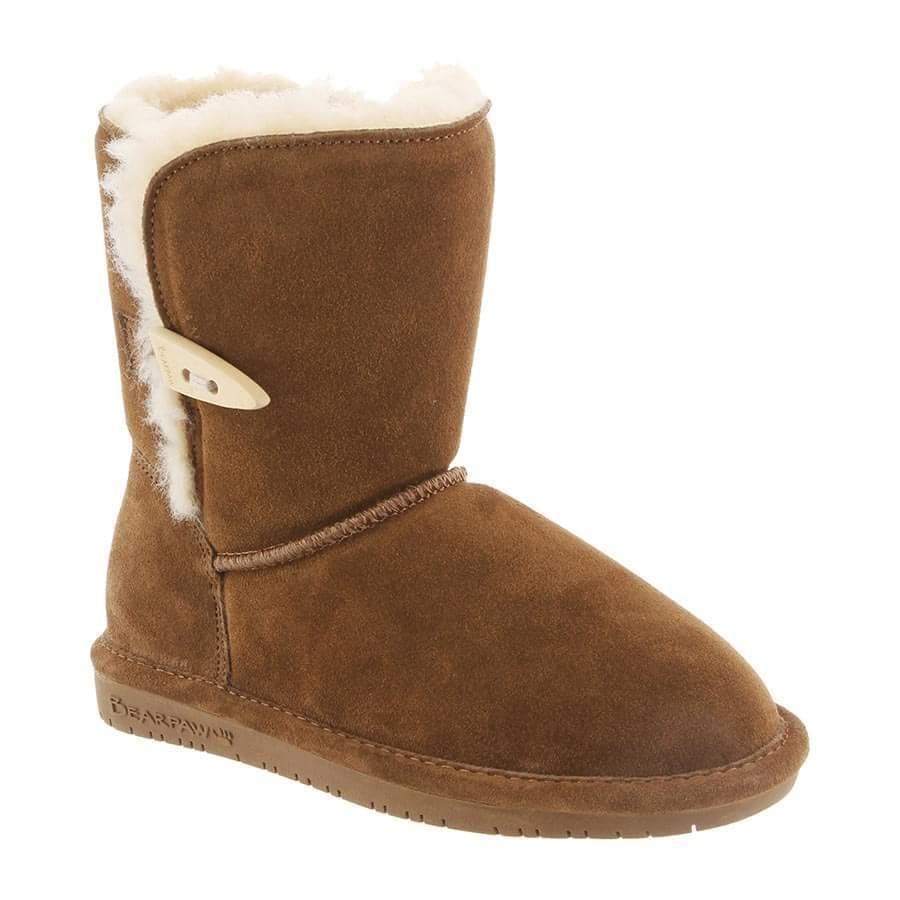 Bearpaw Schaf Kinder Mädchen Abigail Hickory Schaf Bearpaw warmer Pelz Winterstiefel 2b7ec3