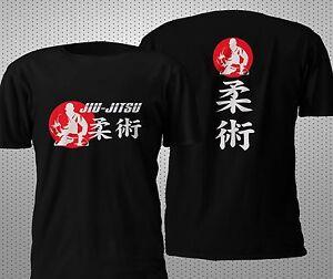 Details about  /JIU JITSU T-SHIRT Mens Martial Arts Karate Top MMA UFC Gorilla Gracie Brazilian