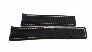 TAG-HEUER-cinturino-nero-21-50-mm-FC6361-AQUARACER-black-textile-strap-ORIGINAL