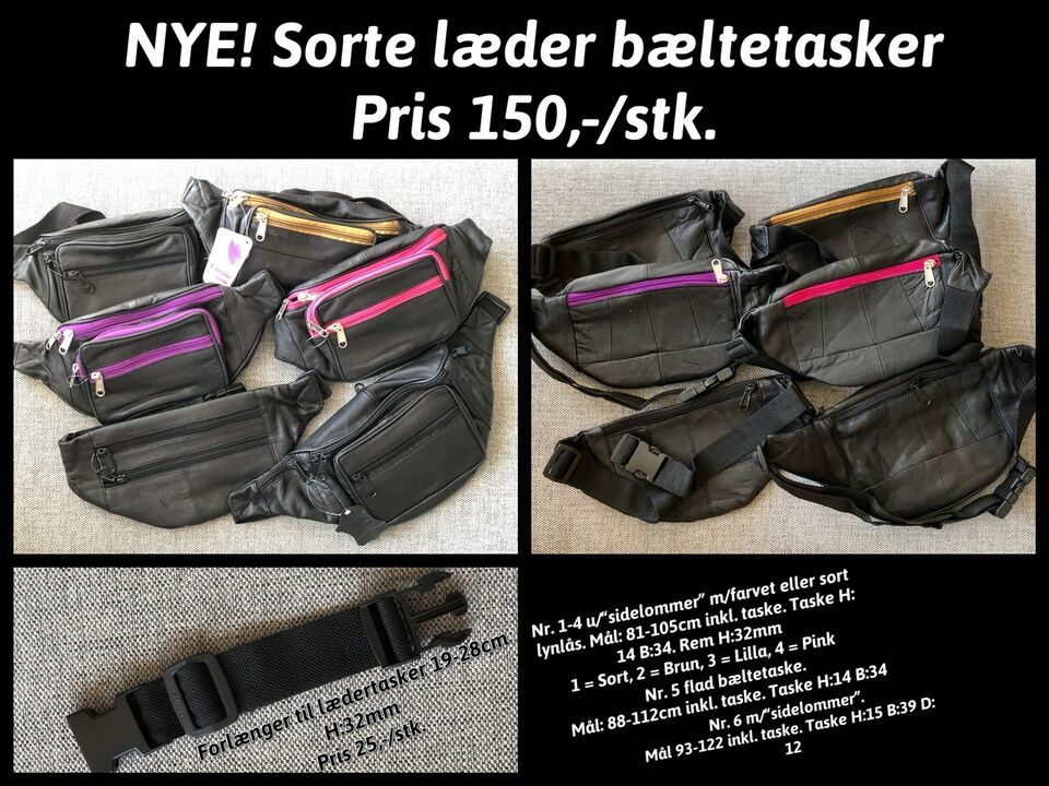 969279bd Bæltetaske – dba.dk – Køb og Salg af Nyt og Brugt