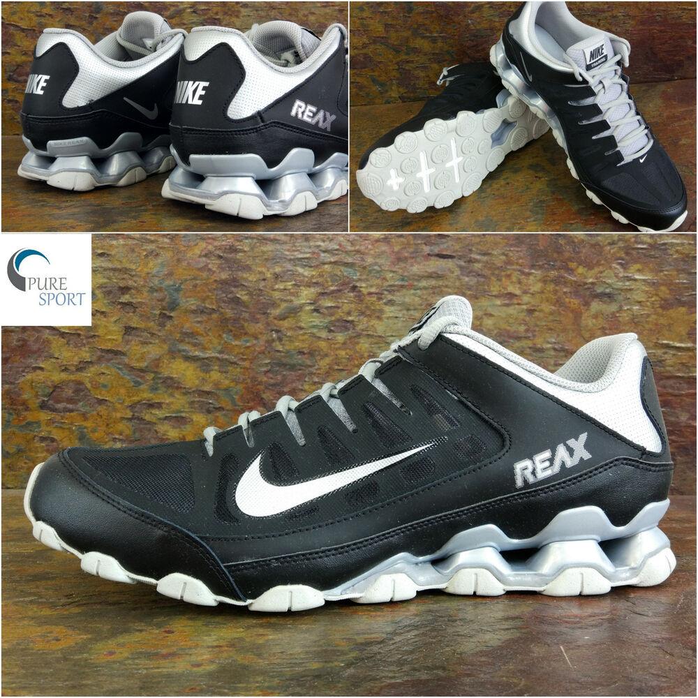 Nike Reax 8 Entraînement Baskets Homme Taille UK 11.5 EU 47 612716 -005 purs-