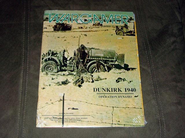 WARGAMER  53 - Dunkerque 1940-WW2 OPERATION DYNAMO jeu (scellé)