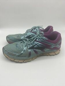 Brooks-GTS-17-Adrenaline-Womens-Size-8-Running-Shoes-Metallic-Blue-Purple