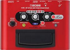 New Boss VE-2 Vocal Harmonist / Portable Vocal Processor