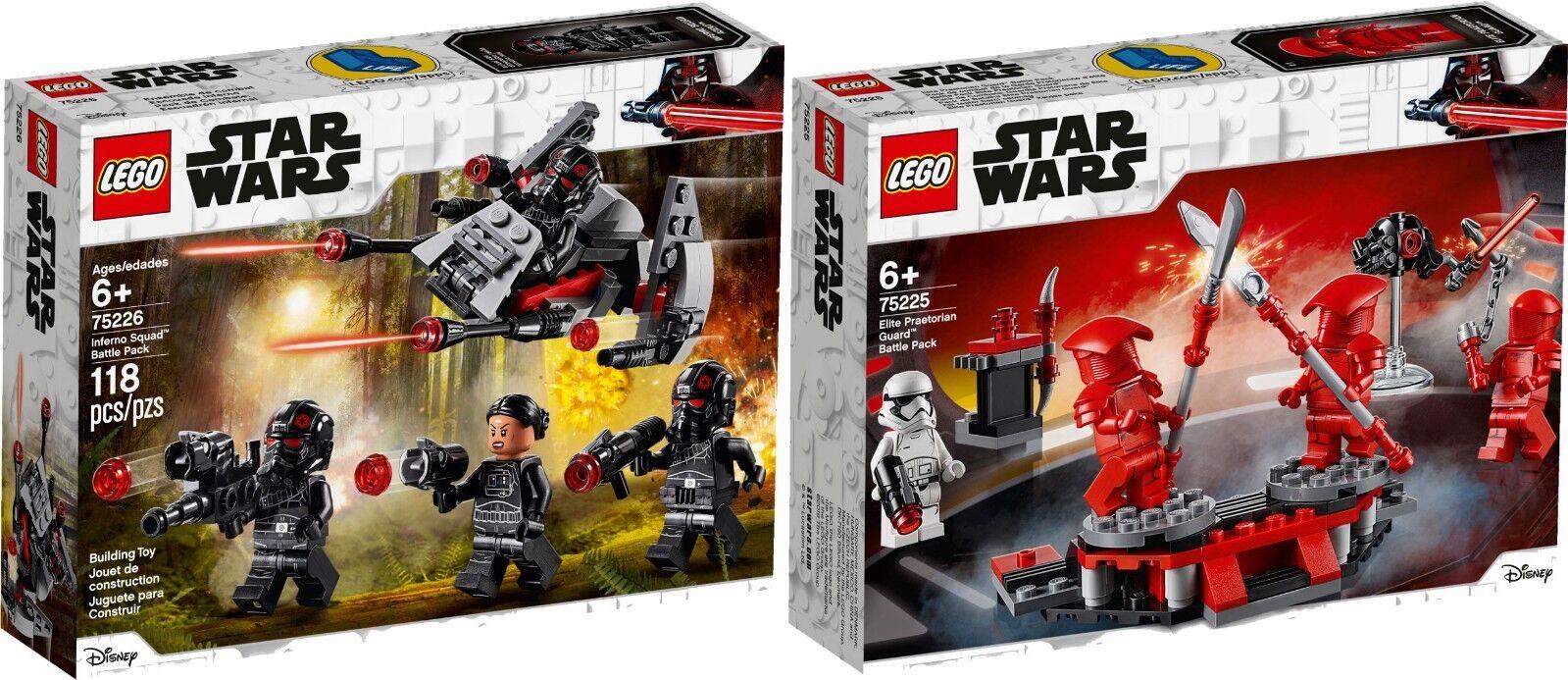 LEGO STAR WARS 75225 Elite Praetorian Guard Battle 75226 Inferno N1 19