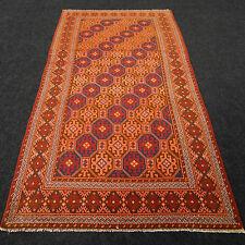 Alter Orient Teppich Ladik 209 x 106 cm Rot Anatolien Kaukasus Red Carpet Rug