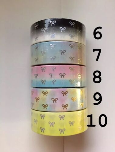 Paca Post 15mm Bow Washi Tapes