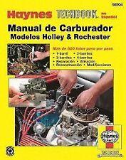 Techbook en Espanol Haynes 98904 Repair Manual de Carburetors Holley Rochester