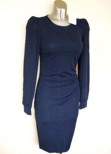 etichette Luxe Navy De Nuovo Wolford Rrp Uk 6 con Taglia Usa 8 Jersey 475 Dress £ 36 wqaqfRnHEx