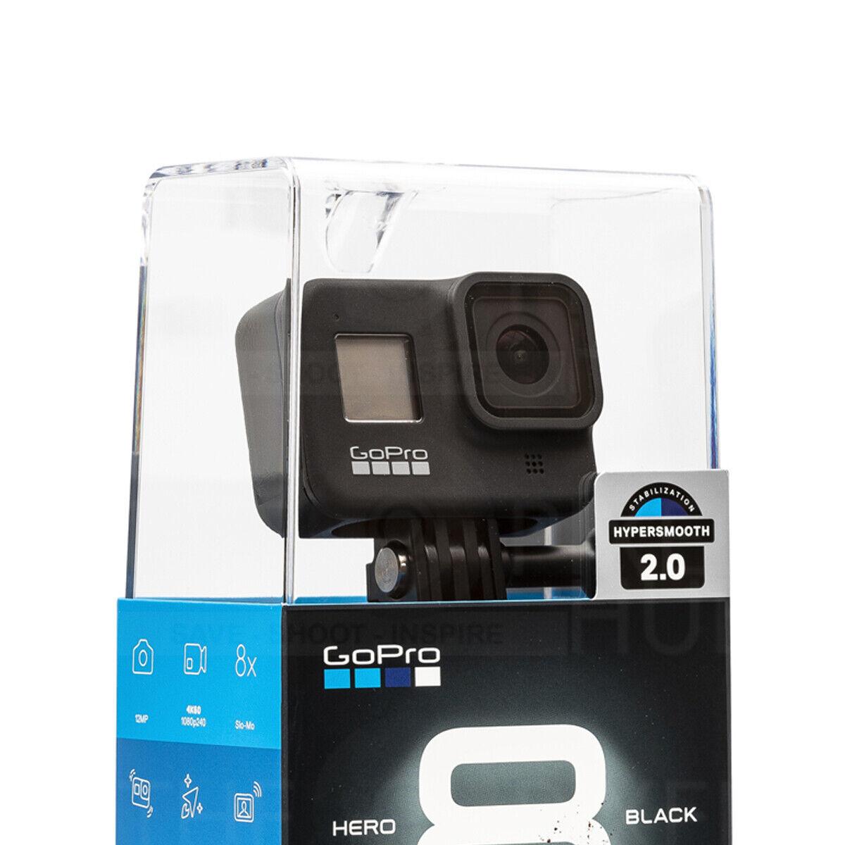 GoPro HERO8 4K Waterproof Action Camera Black - CHDHX-801 action black camera gopro hero8 waterproof