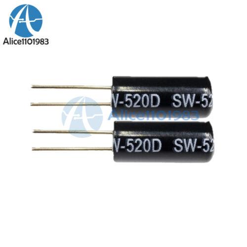 30PCS SW-520D Vibration Sensor Metal Ball Tilt Shaking Switch