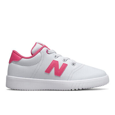 new balance girls white