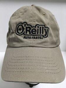 O'REILLY AUTO PARTS Logo Baseball Hat Adjustable Strapback One Size Ball Cap EUC