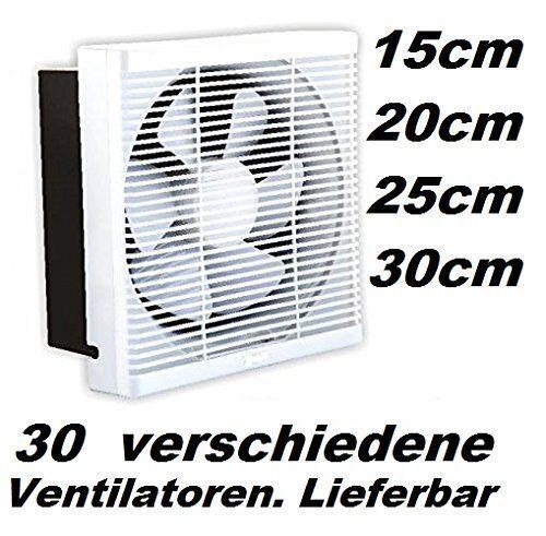 300 mm échappement Ventilateur-Aspiration BE-u-échappement mur ablüfter Ventilateur Ventilateur